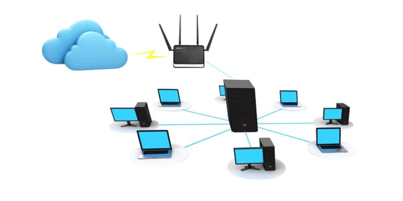 dây mạng dùng để kết nối thiết bị nào