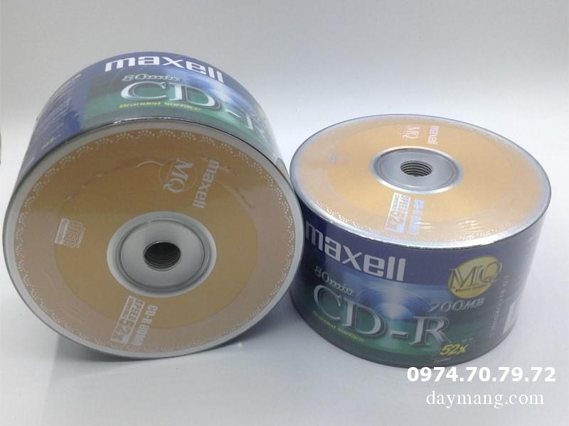Bán CD- DVD trắng, CD maxell, dvd maxell, kachi, dvd9 giá tốt nhất hà nội Dia-cd-trang-maxell