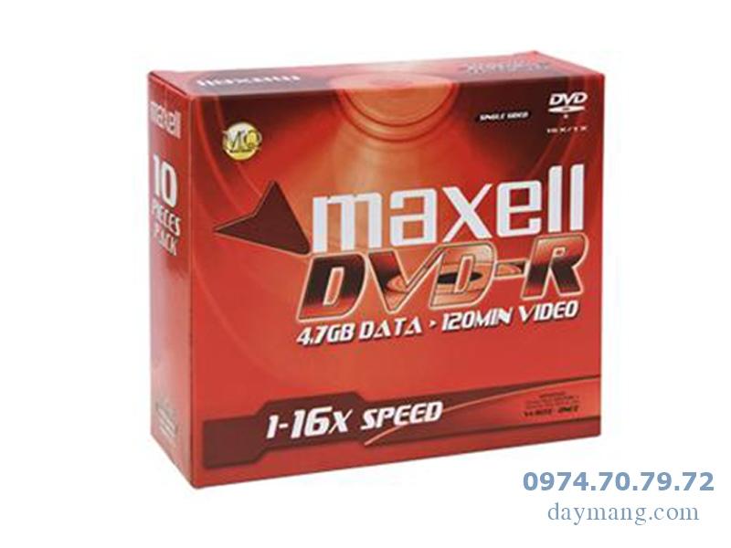 Bán CD- DVD trắng, CD maxell, dvd maxell, kachi, dvd9 giá tốt nhất hà nội Dia-dvd-trang-maxell-hop-10c