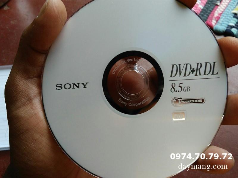 Bán CD- DVD trắng, CD maxell, dvd maxell, kachi, dvd9 giá tốt nhất hà nội Dia-dvd-trang-sony-d9