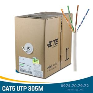 Cáp mạng AMP/Commscope Cat5e UTP - PN: 6-219590-2